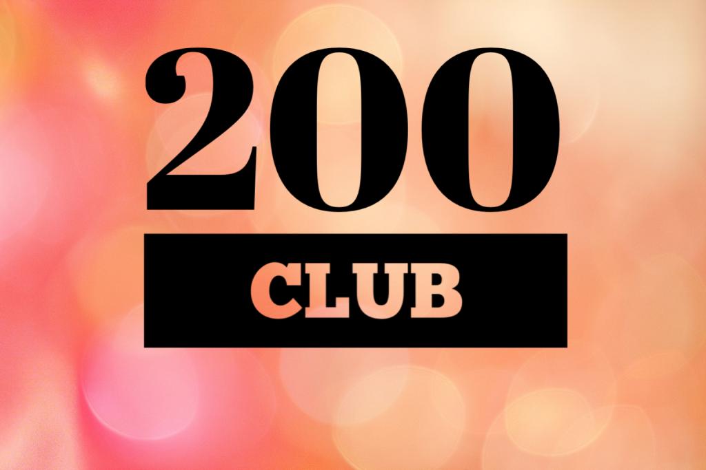 200 Club orange