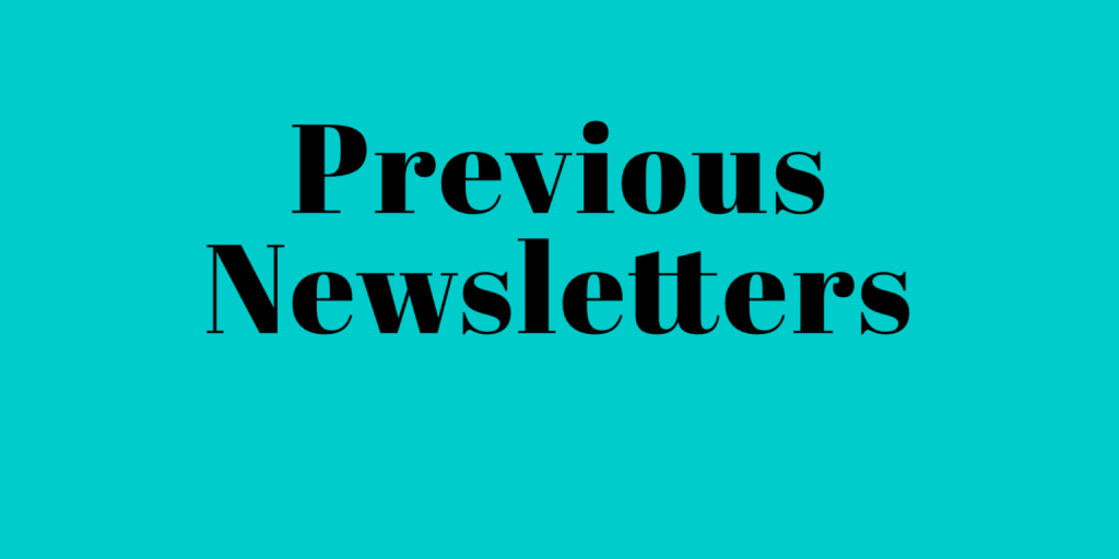 Previous Newsletter